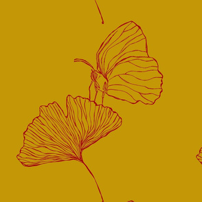 Large-scale Gingko Butterfly