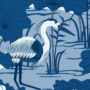 Great Classic Blue Herons