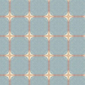 Dot Squares Small M+M Slate by Friztin