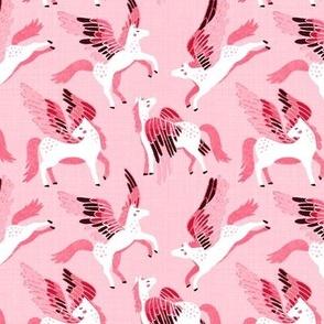 Pink Pegasus Pattern - Small Version