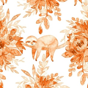 Small Simple Hand-drawn Daisies on White