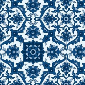 Classic Blue Hues