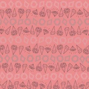 Diamond Mine - Pink