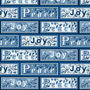 peace and joy brick 12b