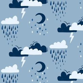 Night Sky Storms
