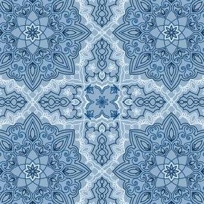 Classic Blue Mandala