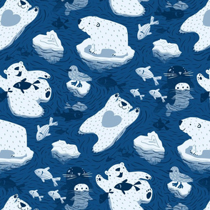 Polar bathing