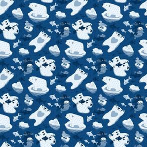 Polar bathing Small scale