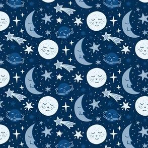 night sky classic blue