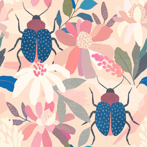 Floral Beetle Pattern