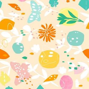 Pollinator Friendly Garden Variety Tea Towel