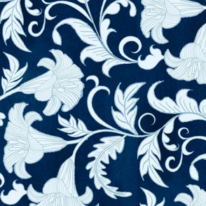Blue Flora