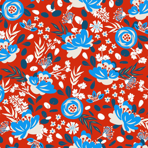 Autumn Bellerose - Red Blue V2