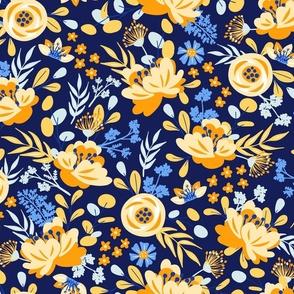 Autumn Bellerose - Yellow Blue