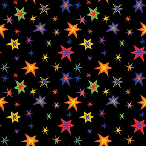 Blacklight Stars