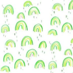 st pattys day rainbow