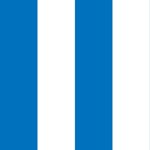 Giant Stripe Blue and White Vertical