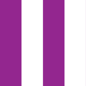 Giant Stripe Purple and White Vertical