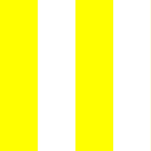 Giant Stripe Yellow and White Vertical