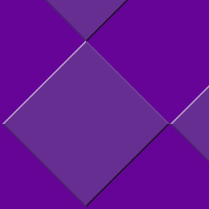 Purple Diamonds on Purple Background