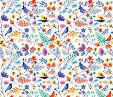 Exotic flora & birds