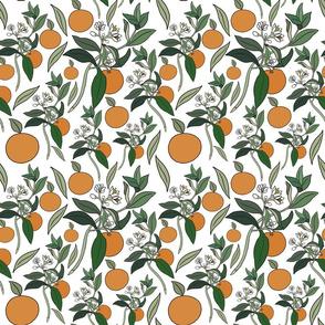 Kawaii Victorian oranges