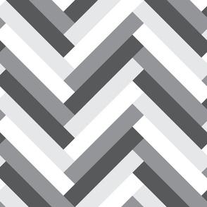 herringbone (greys)