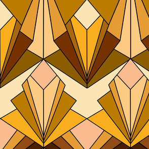 Art Deco meets the 70s - Large Scale