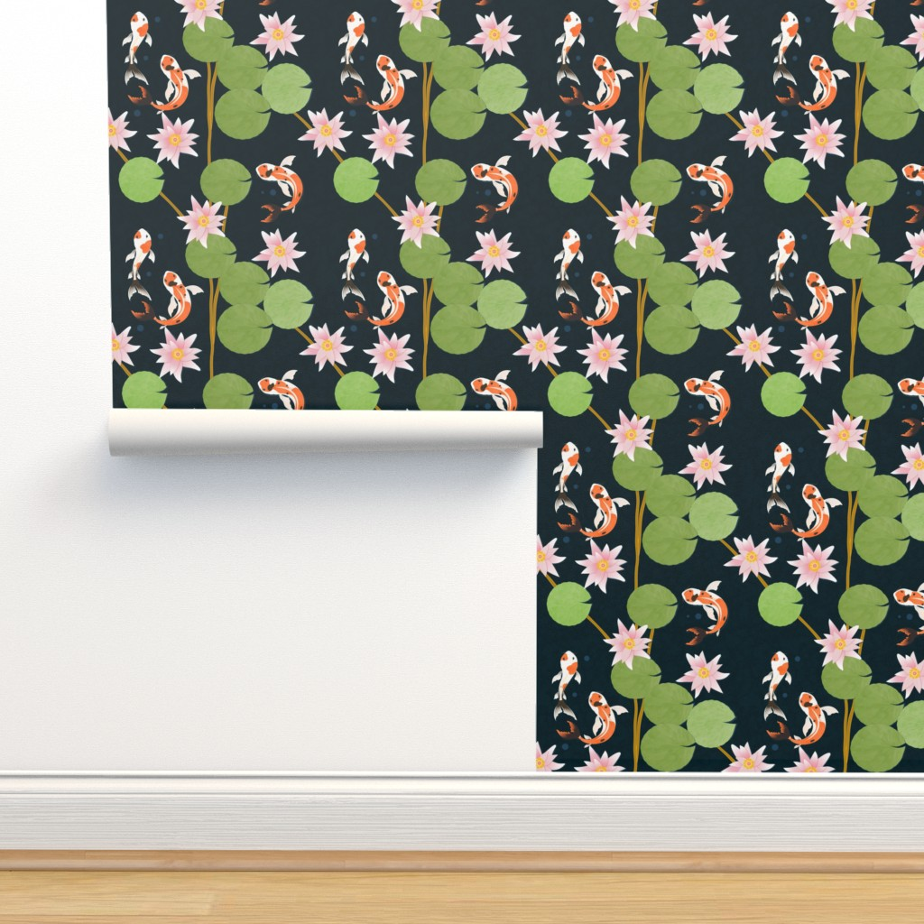 Isobar Durable Wallpaper featuring that pond life by flossiesgrand