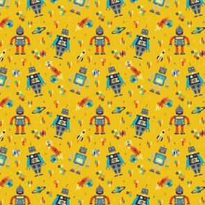 Retro Robots - Small