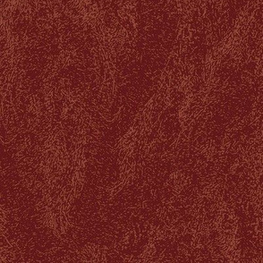 Faux Leather - Mottled OxBlood Red