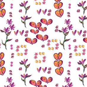 Hearts _ Flowers I