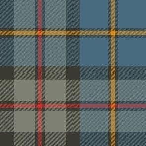 "MacLeod Green or Hunting tartan, 8"", grey weathered"