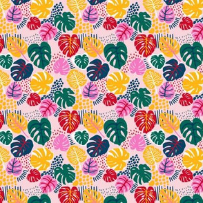 Micro Print - Bohemian Paradise - Pink