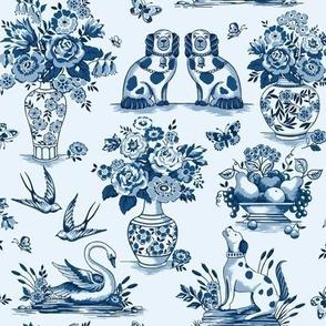 China blue small