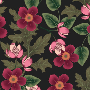 Deep Florals