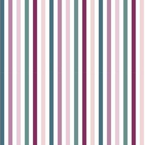 secret garden enchanting stripes - vertical