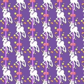 Tiny Unicorn Merry Go Round