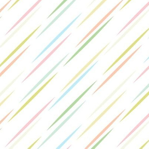 Spring Stripes in Pastel Colors