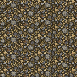 Chintz blue and gold (8 inch)