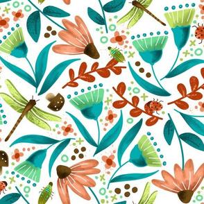 Garden Lovelies - Coral