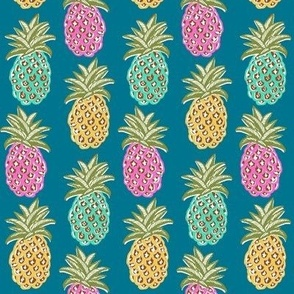 pineapple summer 2021 tropical resort fabric and wallpaper