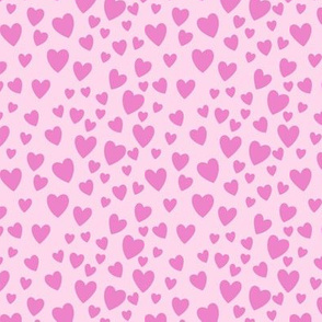 Little Hearts Pink
