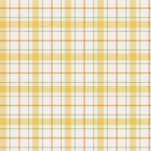 Plaid in Golden (Spring's First Blush: Coordinate)