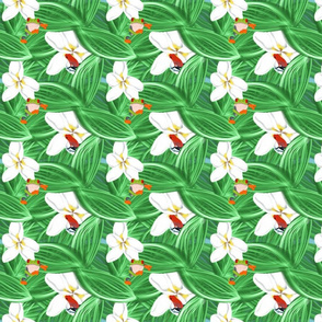 Springtime Frolic_ Spring Flora & Fauna Design Challenge
