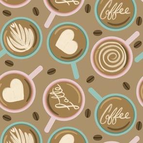 Latte Love - tan