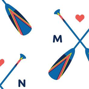 Minnesota Painted Paddles Jumbo
