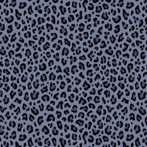 ★ STONEWASHED DENIM LEOPARD ★ Leopard Print in Indigo Blue - Tiny Scale / Collection : Leopard Spots – Punk Rock Animal Prints