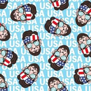 Abraham - USA blue - sunnies - LAD20