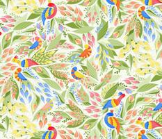 Flowery Folk Birds